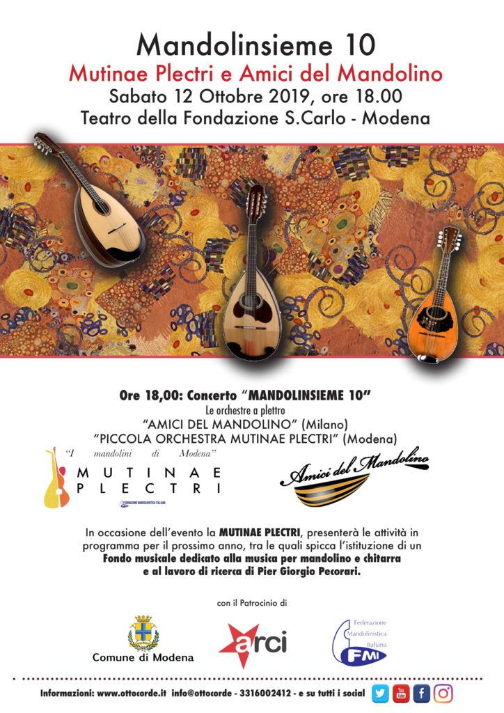 Modena e Milano in Mandolinsieme 10