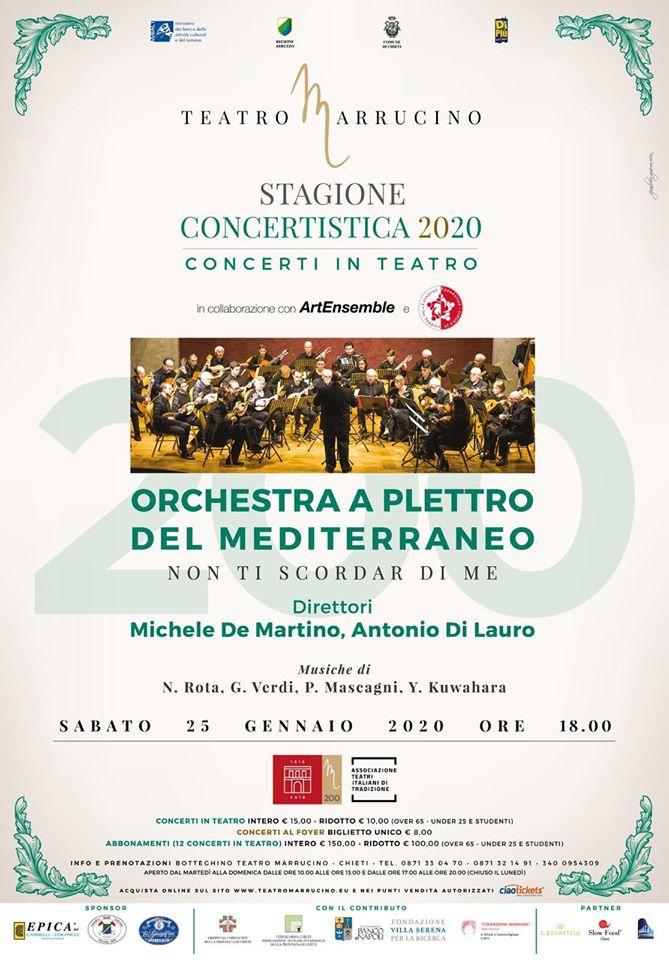 Orchestra a Plettro del Mediterraneo…Una bella realtà